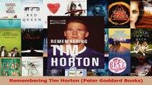 Read  Remembering Tim Horton Peter Goddard Books Ebook Free