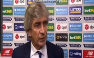 Stoke City vs Manchester City 2-0 - Manuel Pellegrini Post-Match Interview