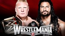 Wrestlemania - Brock Lesnar vs Roman Reigns