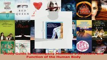 Read  Study Guide to Accompany Memmlers Structure and Function of the Human Body Ebook Free