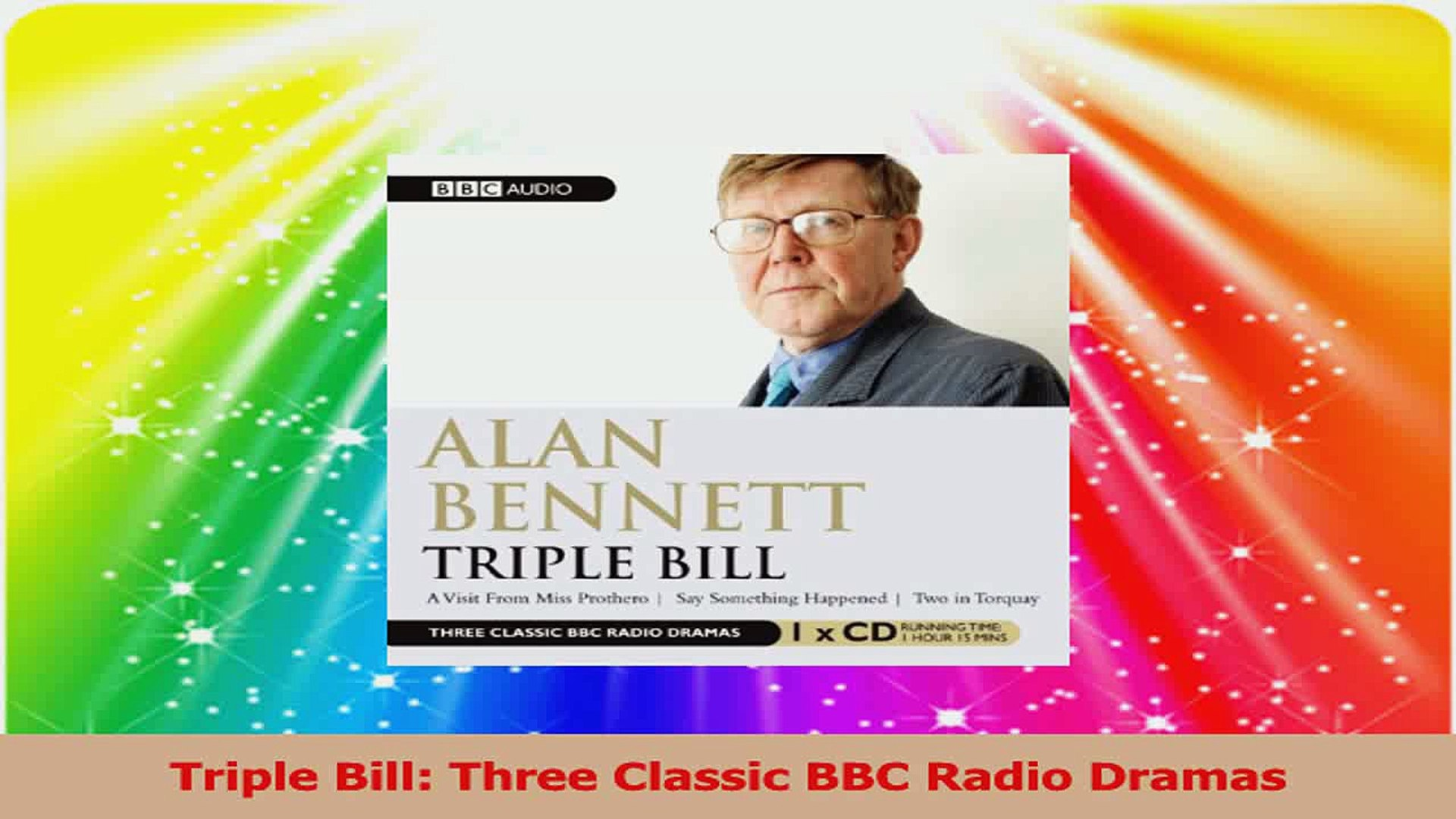 Triple Bill Three Classic BBC Radio Dramas PDF
