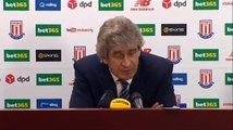Stoke City 2-0 Manchester City  (Manuel Pellegrini Press Conference)
