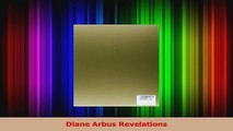 PDF Download  Diane Arbus Revelations PDF Full Ebook
