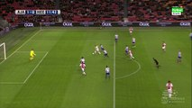 Viktor Fischer 1-0 _ Ajax v. Heerenveen 05.12.2015 HD