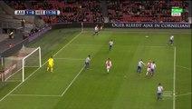 Viktor Fischer Goal - Ajax 1 - 0 Heerenveen -  05/12/2015