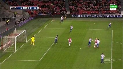 Гол Виктор Фишер · Аякс (Амстердам) - Херенвен (Херенвен) - 1:0