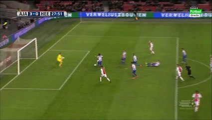 Гол Амин Юнес · Аякс (Амстердам) - Херенвен (Херенвен) - 3:0