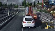 Euro Truck Simulator 2 |146 km/h |2500BHP mod |Logitech G27 |delivery |crash |feet/pedals
