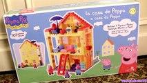 Peppa Pig Blocks Mega House Construction Set - Juego de Construcciones Playset con Mamá P