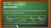 Simple Present Tense - Geniş Zaman - Learn English,Study English
