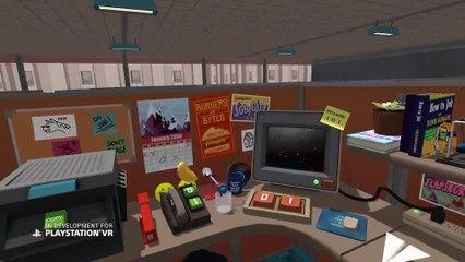Gameplay Teaser PS VR de Job Simulator