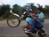 Pakistani jhelum wheeler jhelum rider wheeling in jhelum wheeling