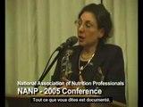 """Dr Rima Laibow - Le Codex Alimentarius """" les éléments nutritifs sont des toxines ! """""""