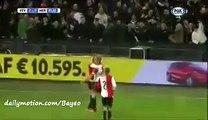 Dirk Kuijt Goal - Feyenoord 2-0 Heracles - 06-12-2015