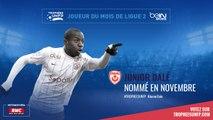 Ligue 2 / Trophées UNFP - Joueurs du mois : Maurice Junior Dalé