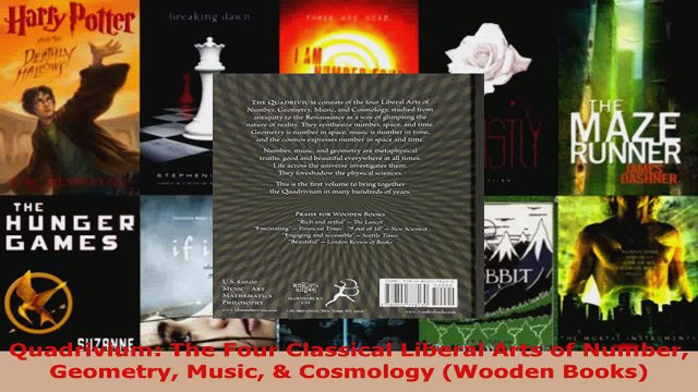 Read  Quadrivium The Four Classical Liberal Arts of Number Geometry Music  Cosmology Wooden EBooks Online