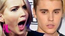 Justin Bieber Admits Jennifer Lawrence Crush: Her Reaction