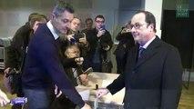 Le raté de Hollande lors de son vote n'est pas passé inaperçu