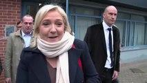 Élections régionales : Marine Le Pen a voté à Henin-Beaumont, ce matin