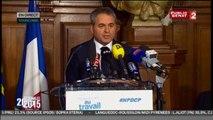 Nord-Pas-de-Calais-Picardie : Xavier Bertrand tend la main « aux électeurs de gauche » pour « faire barrage » au FN
