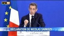 """Régionales: Nicolas Sarkozy appellera à """"refuser toute fusion et tout retrait de listes"""""""