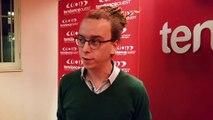 Mathieu Carpentier réagit suite aux résultats du premier tour des élections régionales