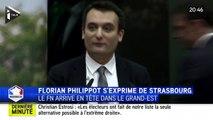 """Florian Philippot : des résultats """"tout à fait historiques"""""""