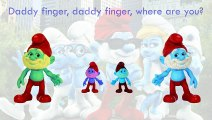 Smurfs Finger Family Song Daddy Finger Nursery Rhymes Good Characters Full animated cartoo catoonTV!