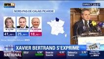"""Xavier Bertrand : """"Le visage de la région Nord-Pas-de-Calais-Picardie ne sera pas celui de Marine Le Pen"""""""