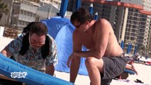 Severed Hand Beach Prank (Spring Break Pranks)