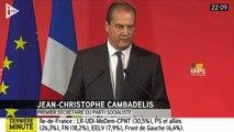 Régionales 2015 : la réaction de Jean-Christophe Cambadélis