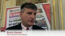 Régionales 2015 - Isère - Réaction de Bruno Desies, tête de liste FN en Isère