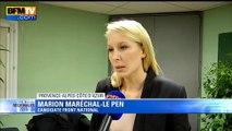 """Marion Maréchal-Le Pen interprète les scores du FN """"comme la fin du vieux monde politicien"""""""