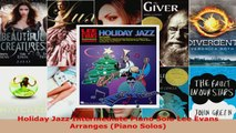 Download  Holiday Jazz Intermediate Piano Solo Lee Evans Arranges Piano Solos EBooks Online