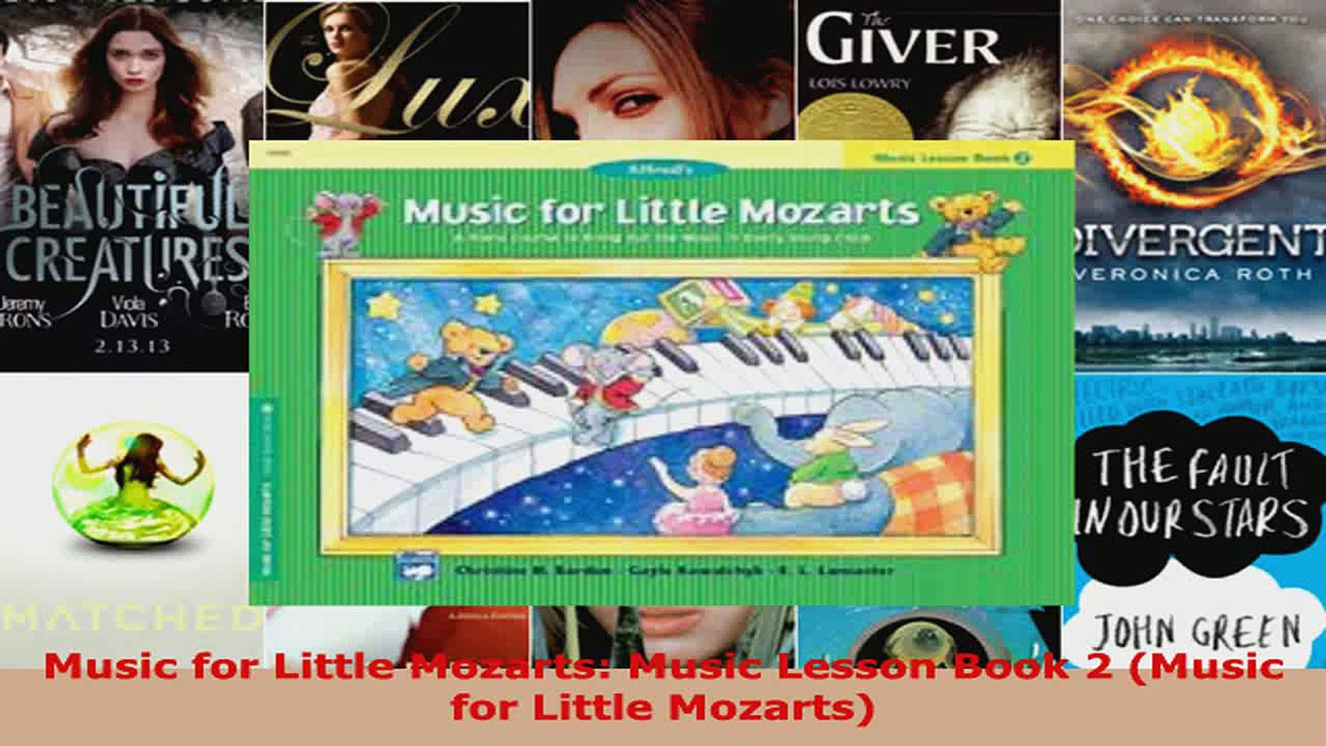 Download  Music for Little Mozarts Music Lesson Book 2 Music for Little Mozarts PDF Free