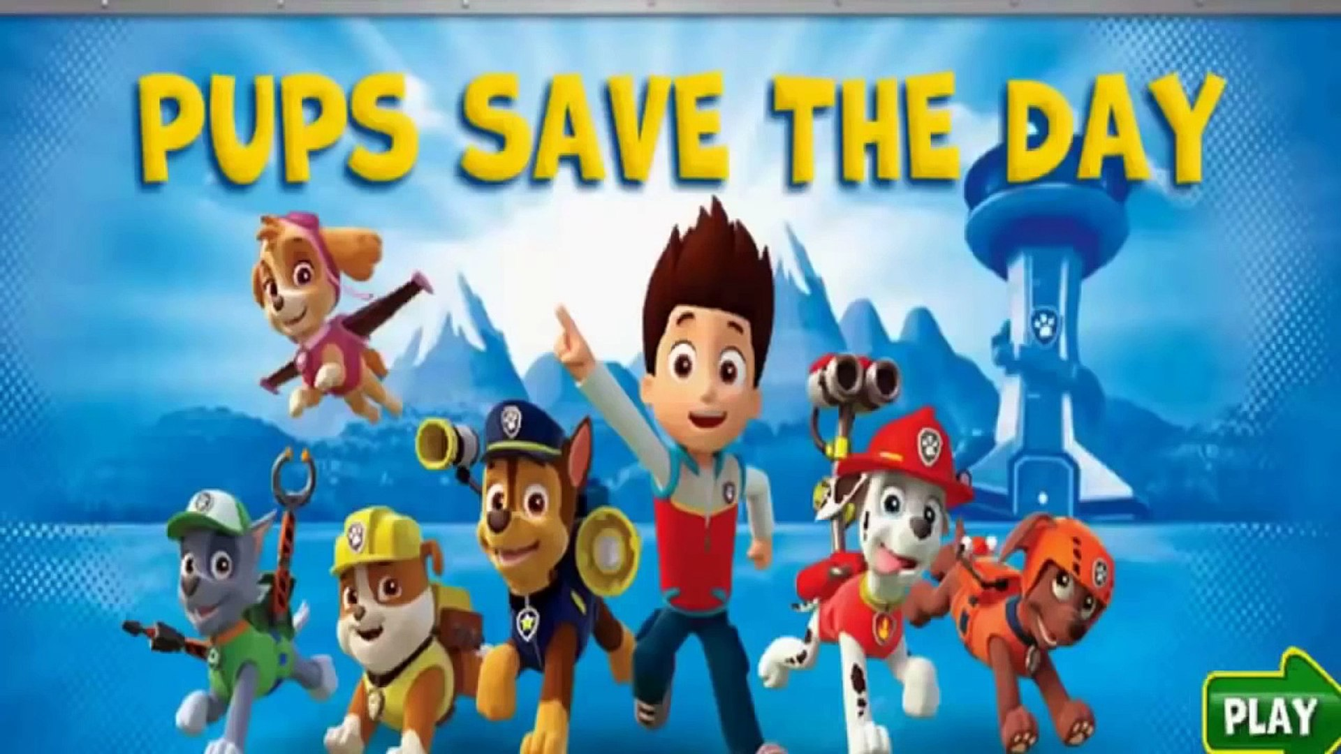 Paw Patrol Hd Full Episodes - Paw Patrol Cartoon Episodes In English_ Full game for Children part 1