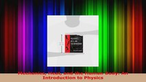 Download  Mechanics Heat and the Human Body An Introduction to Physics PDF Free