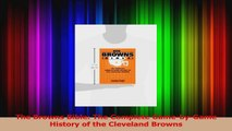 Download  The Browns Bible The Complete GamebyGame History of the Cleveland Browns Ebook Free