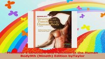 Memmlers Structure and Function of the Human Body9th Nineth Edition byTaylor Download