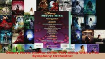 Read  Disney Movie Hits for Cello Play Along with a Full Symphony Orchestra PDF Free