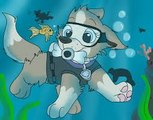 Paw Patrol Espanol Games Birthday Christmas 2015 | Paw Patrol English Pups Save Christmas part 1 brief episode