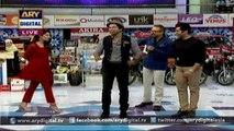 Fahad Mustafa, Mahira Khan and Sheheryar Munawar Siddiqui performing on song 'Shakar Wandaan