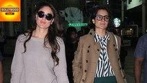 Kareena Kapoor Kangana Ranaut SPOTTED Together   Bollywood Asia