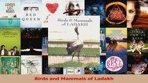 Read  Birds and Mammals of Ladakh Ebook Free