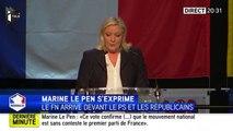 """Elections Régionales : Marine Le Pen, """"Le Front national est le seul front véritablement républicain"""""""