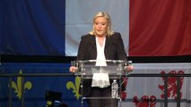 Elections Régionales : Discours de Marine Le Pen à Hénin-Beaumont