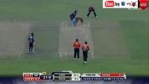 Shoaib Malik got 1st wicket Chris Gayle lbw out vs Barisal Bulls BPL 2015 Dec 7, 2015