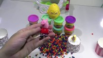 play doh kinder surprise eggs frozen peppa pig lego - Play dough toys