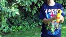 SPIDERMAN Bubble Gun Spider Man Bubble Machine Bubbles Generator Bubble Playtime for Kids