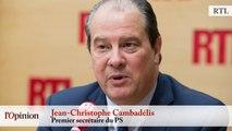 Régionales - Jean-Christophe Cambadélis (PS) : « Nicolas Sarkozy ne pense qu'à lui »